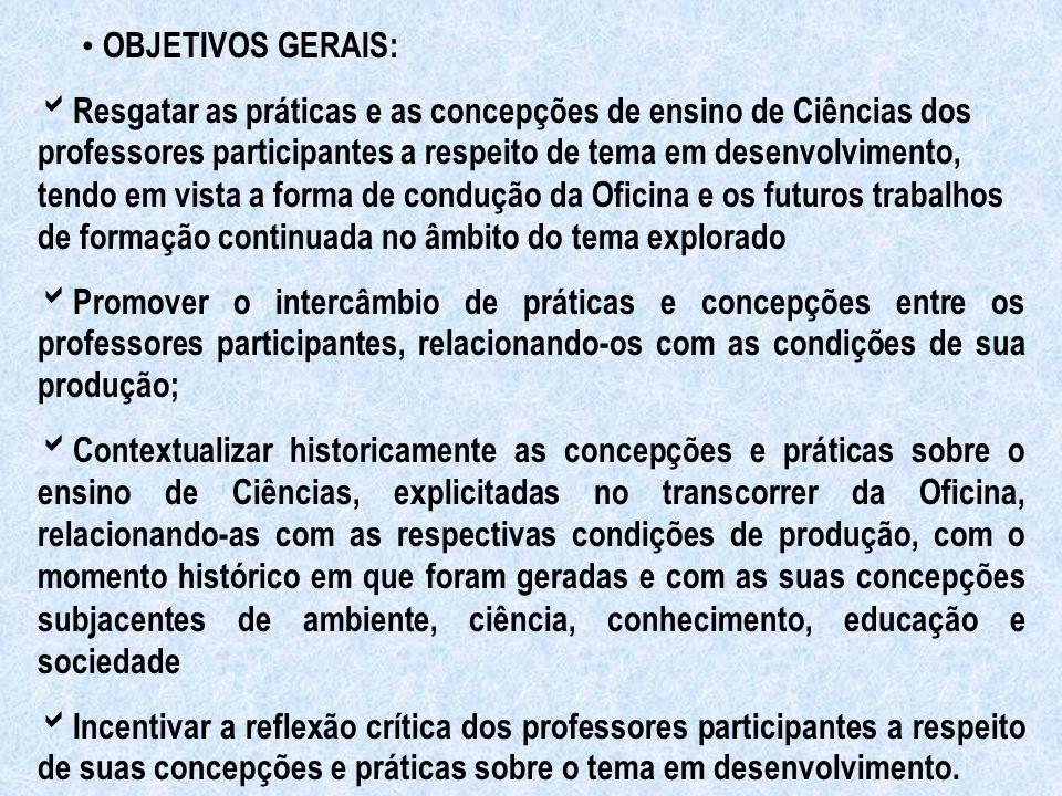 Possibilitar a interação entre os saberes dos professores e os conhecimentos sistematizados pela produção acadêmica, em um processo de diálogo horizontal entre as instâncias e atores envolvidos.