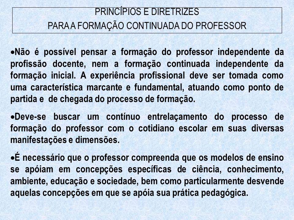 É necessário que o professor compreenda a influência exercida pelo contexto histórico e pelas condições específicas de produção do ensino na construção das diferentes concepções e práticas pedagógicas, particularmente daquelas por ele desenvolvidas.