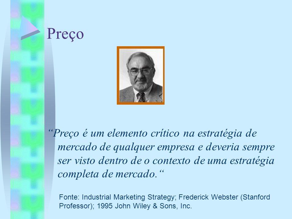 Preço Preço é um elemento crítico na estratégia de mercado de qualquer empresa e deveria sempre ser visto dentro de o contexto de uma estratégia compl