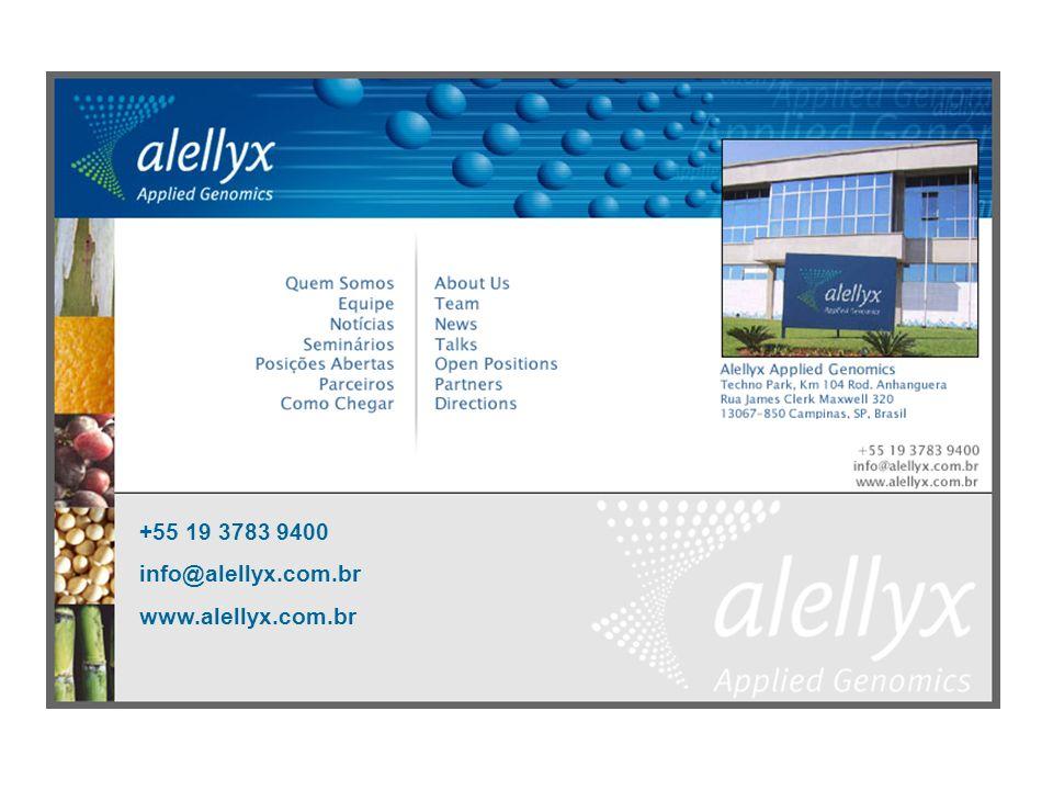 +55 19 3783 9400 info@alellyx.com.br www.alellyx.com.br