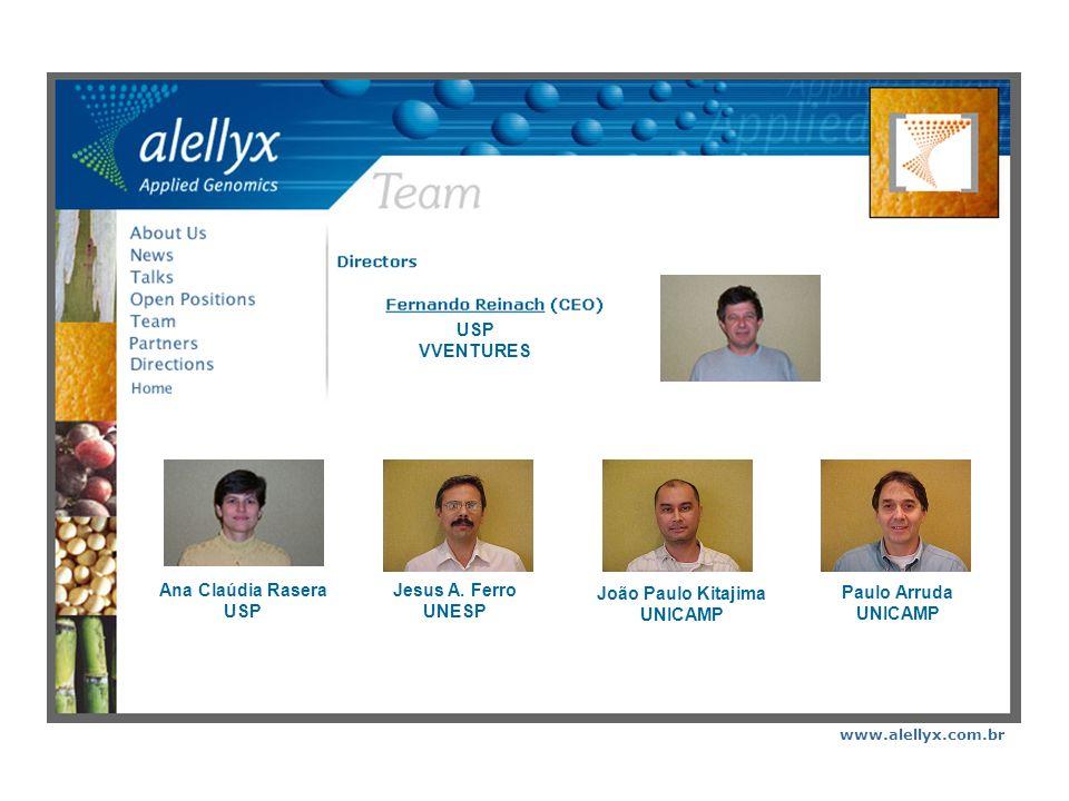 www.alellyx.com.br A Alellyx é uma empresa de biotecnologia focada em Genômica Aplicada para a Agricultura.
