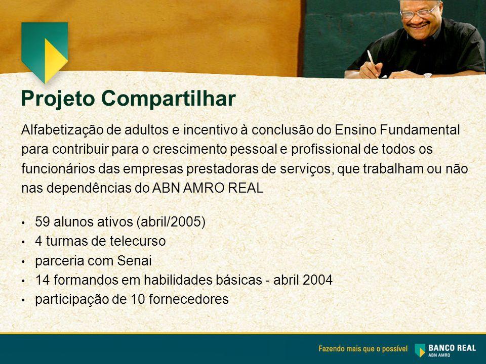 Alfabetização de adultos e incentivo à conclusão do Ensino Fundamental para contribuir para o crescimento pessoal e profissional de todos os funcionár
