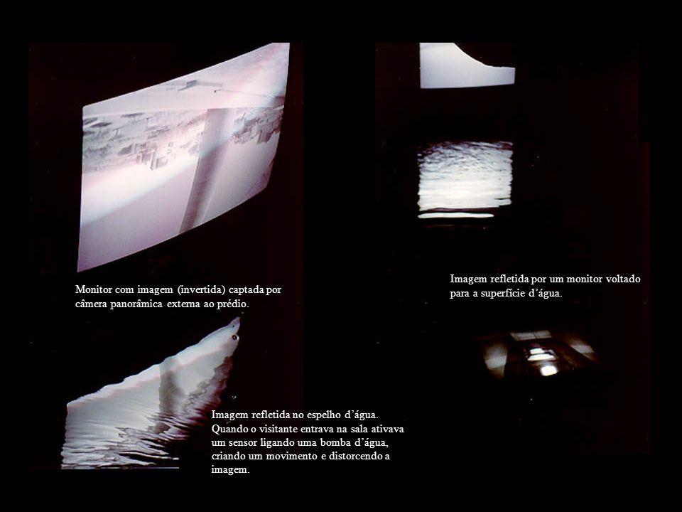 Home page com Entremeios 2, onde podíamos ver as imagens captadas pelas diversas câmeras.