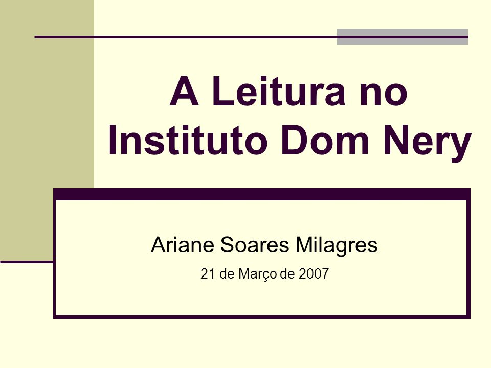 Instituto Dom Nery - Ariane Soares Milagres Atividades Cotidianas: Atividades Cotidianas: Trabalho com Fantoches