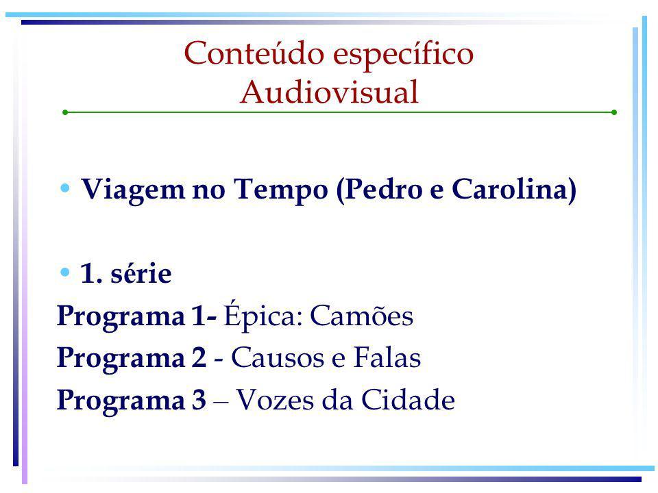 Conte ú do espec í fico Audiovisual 2.