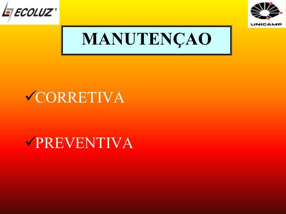 MANUTENÇAO CORRETIVA PREVENTIVA