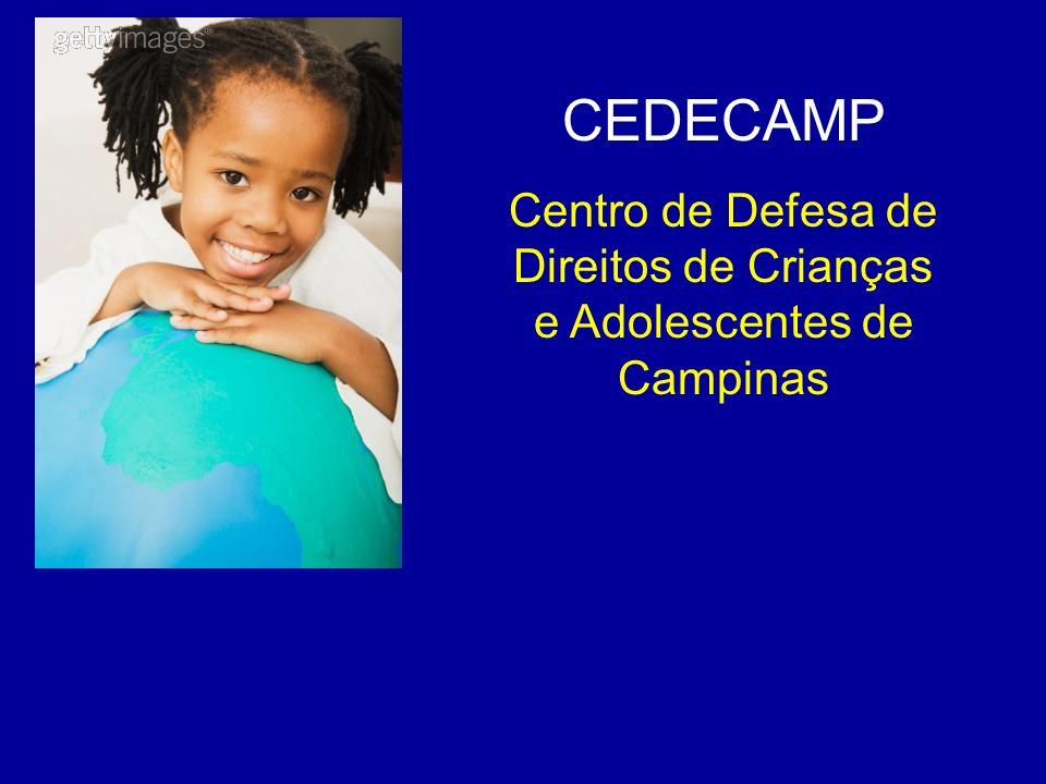 CEDECAMP Centro de Defesa de Direitos de Crianças e Adolescentes de Campinas