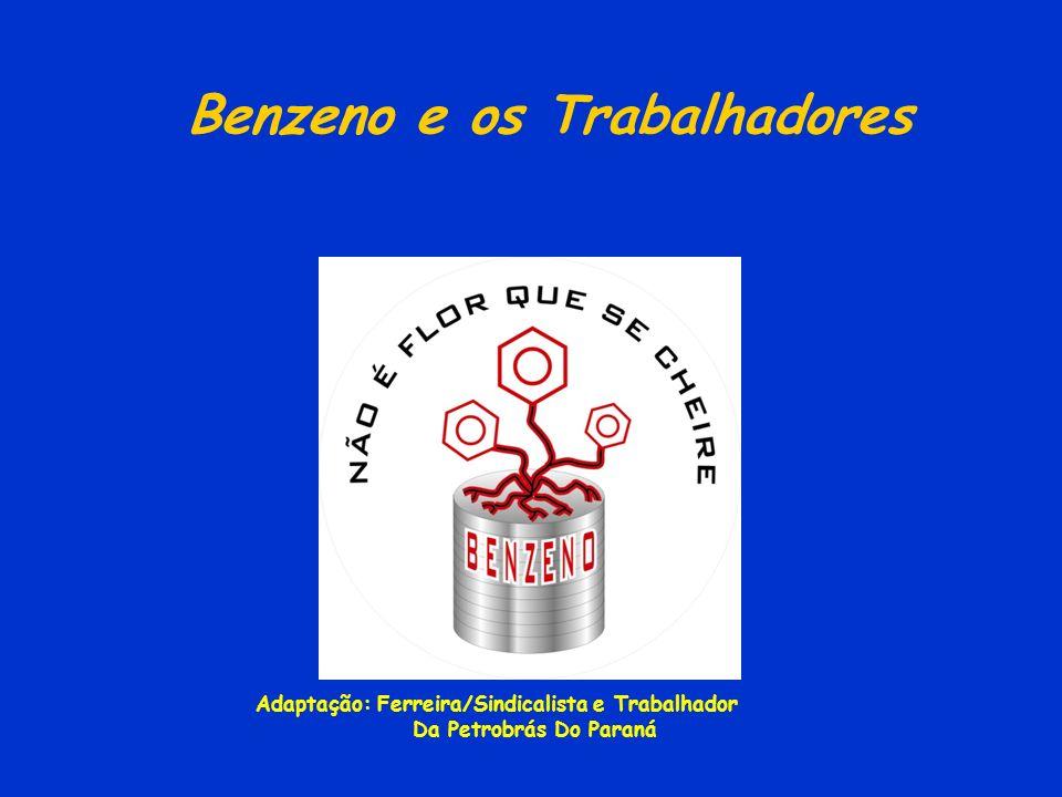 BALANÇO DAS ATIVIDADES DA COMISSÃO NACIONAL PERMANENTE DO BENZENO Pontos importantes acordados em 1995: · VRT (valor de referência tecnológico) · GTB (grupo de trabalhadores representantes do benzeno) · CNPBz (Comissão Nacional Permanente do Benzeno) · PPEOB (Programa de prevenção da exposição ocupacional ao benzeno) · Proibição do uso do benzeno com exceção das empresas que o produzem utilizam em sínteses químicas, siderúrgicas e laboratórios onde ele não possa ser substituído Obrigatoriedade de cadastramento das empresas autorizadas