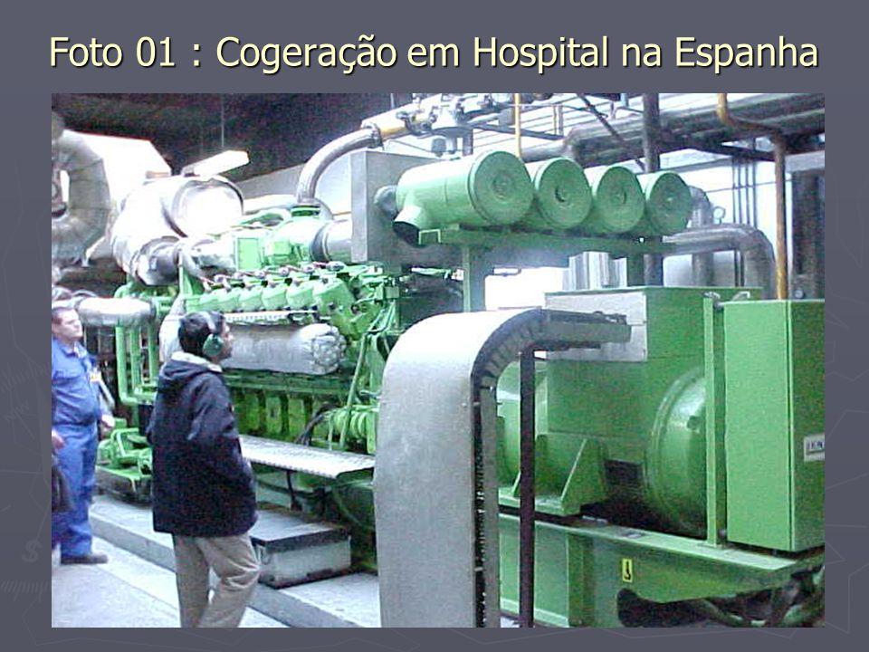 Foto 01 : Cogeração em Hospital na Espanha