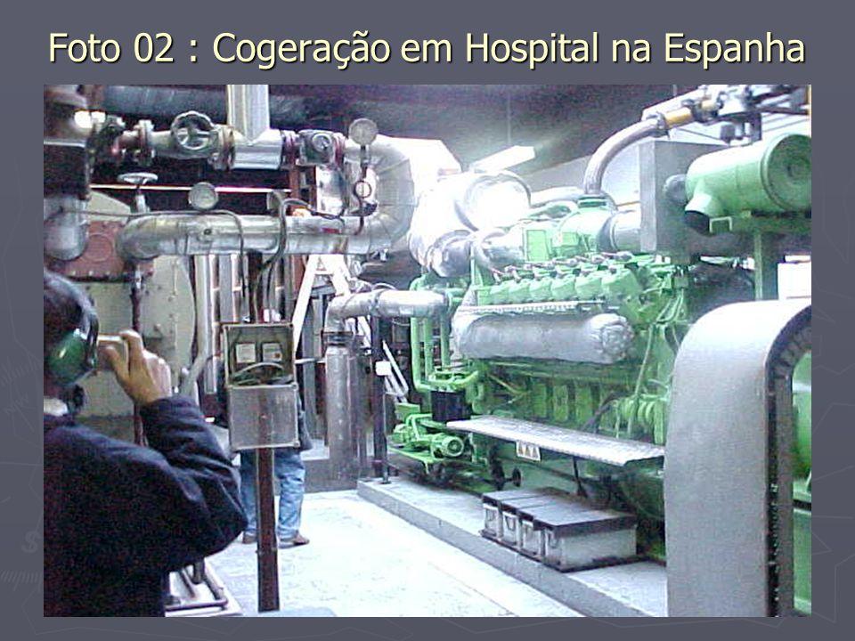 Foto 02 : Cogeração em Hospital na Espanha