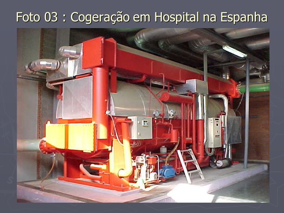 Foto 03 : Cogeração em Hospital na Espanha