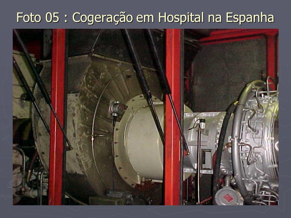Foto 05 : Cogeração em Hospital na Espanha