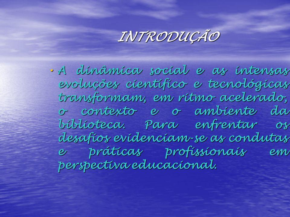 BIBLIOTECA: ESPAÇO EDUCACIONAL EXTENSÃO DA SALA DE AULA: Alternativa interdisciplinar; Alternativa interdisciplinar; Potencialização de conteúdos curriculares; Potencialização de conteúdos curriculares; Trabalho integrado sala de aula-biblioteca; Trabalho integrado sala de aula-biblioteca; Atividades complementares de pesquisa e de leitura; Atividades complementares de pesquisa e de leitura; Fontes de informação multimídia como recursos materiais para assimilação de conhecimento.