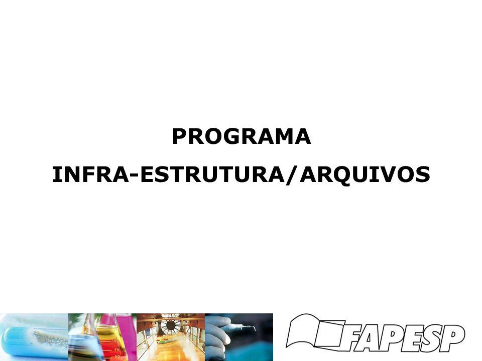 PROGRAMA INFRA-ESTRUTURA/ARQUIVOS