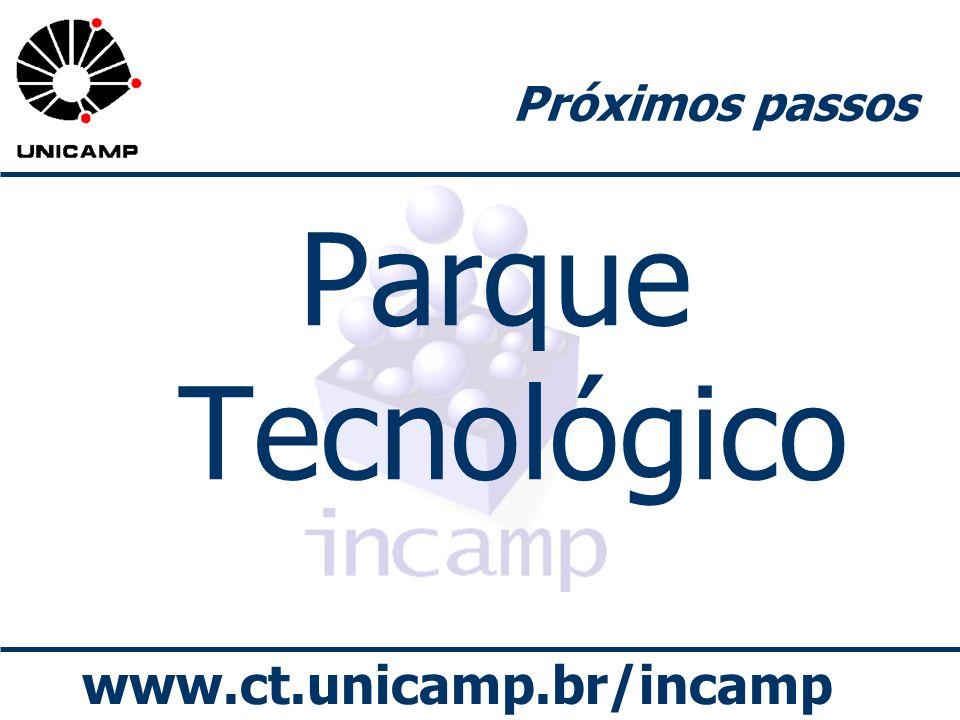 www.ct.unicamp.br/incamp Próximos passos Parque Tecnológico