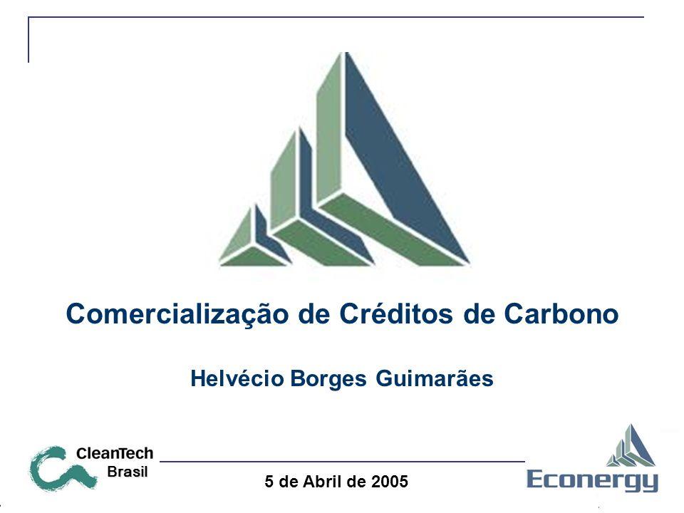 5 de Abril de 2005 Brasil Comercialização de Créditos de Carbono Helvécio Borges Guimarães
