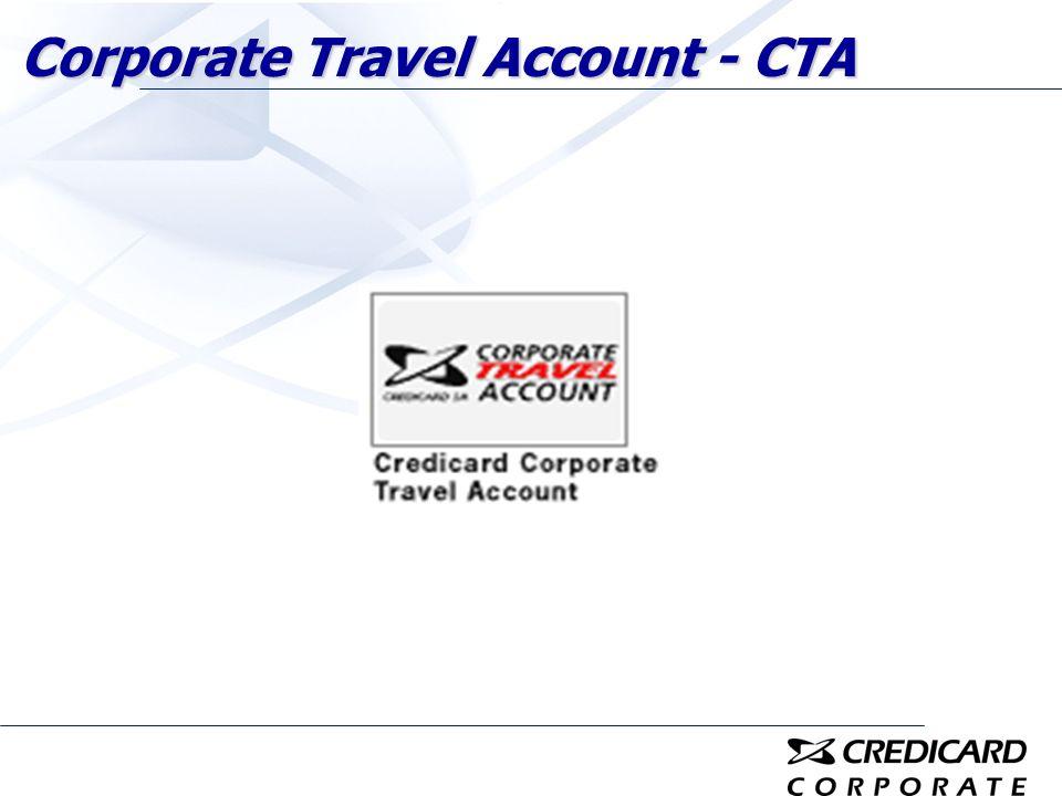 Corporate Travel Account - CTA