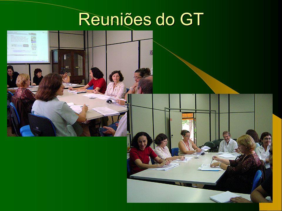 Reuniões do GT