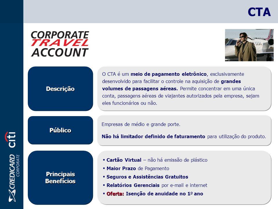 PúblicoPúblico DescriçãoDescrição Empresas de médio e grande porte.