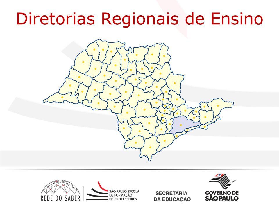 Diretorias Regionais de Ensino