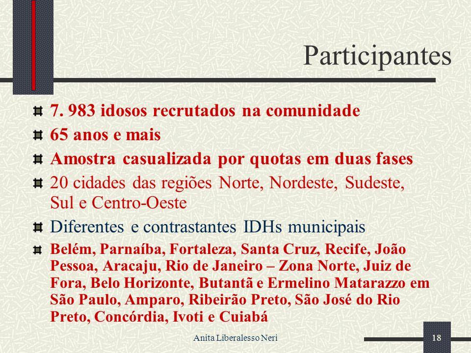 Anita Liberalesso Neri18 Participantes 7.