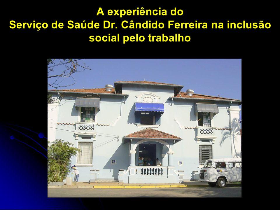 A experiência do Serviço de Saúde Dr. Cândido Ferreira na inclusão social pelo trabalho