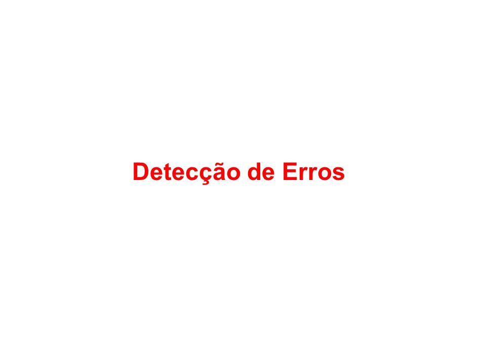 Detecção de Erros