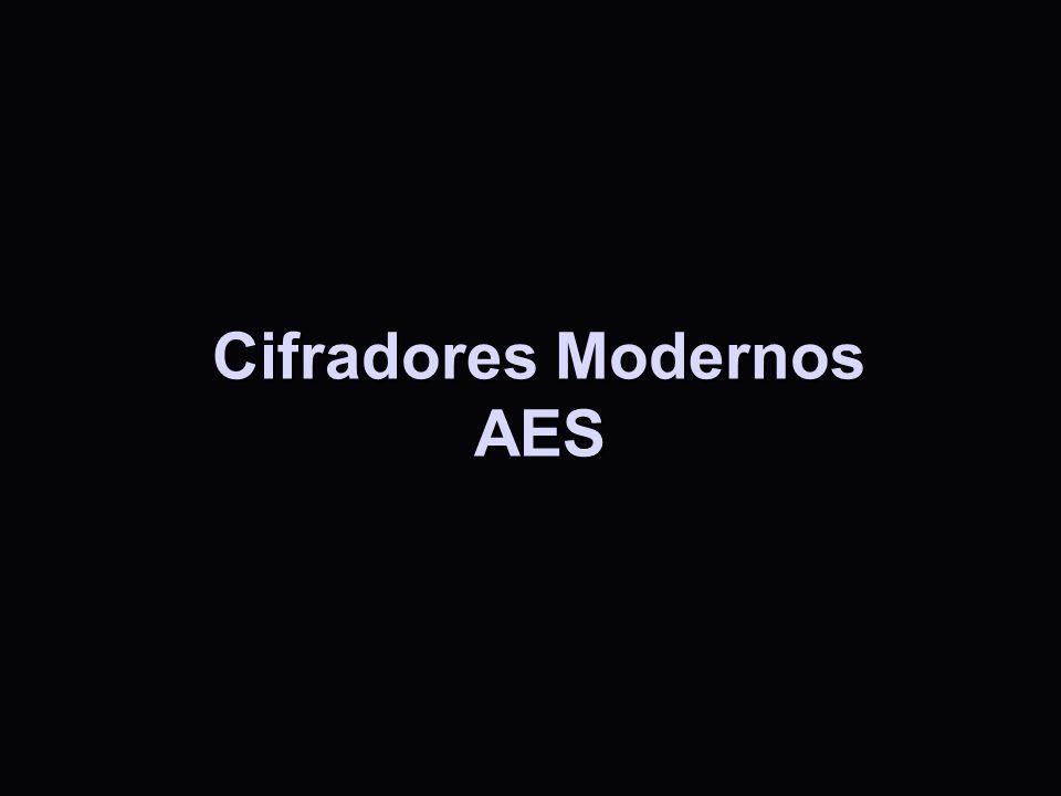 Cifradores Modernos AES