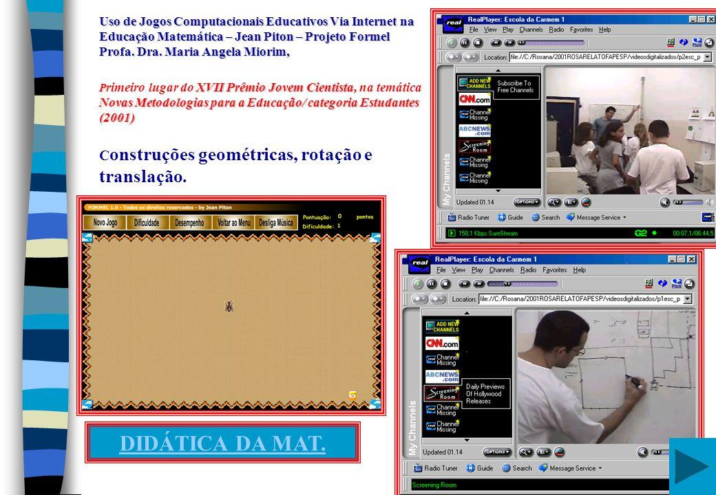 EP155 -Pedagogia GRADUAÇÃO/FE/UNICAMP EL 654 Licenciatura/Mat.
