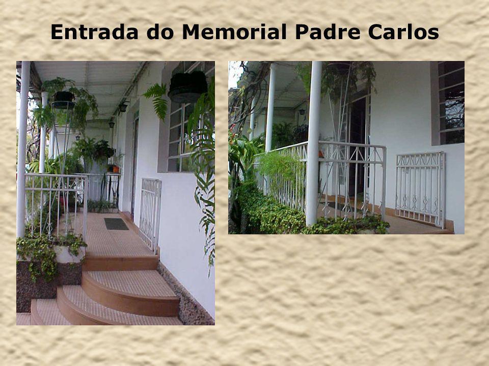 Entrada do Memorial Padre Carlos