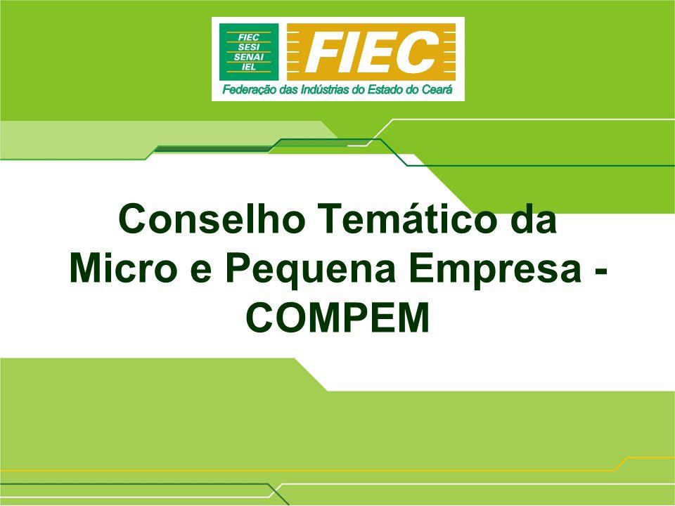 37ª Reunião Ordinária do Conselho Temático Permanente da Micro e Pequena Empresa – COMPEM/CNI 06/08/2008