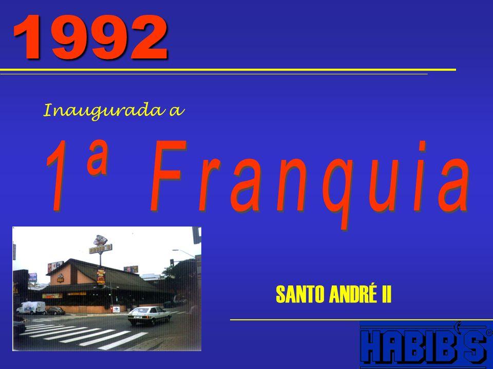 1992 Inaugurada a SANTO ANDRÉ II