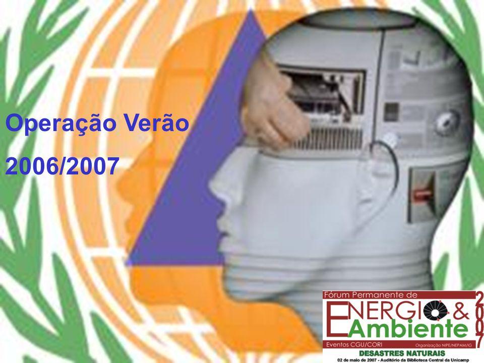 Operação Verão 2006/2007 DEFESA CIVIL DE CAMPINAS Operação Verão 2006/2007
