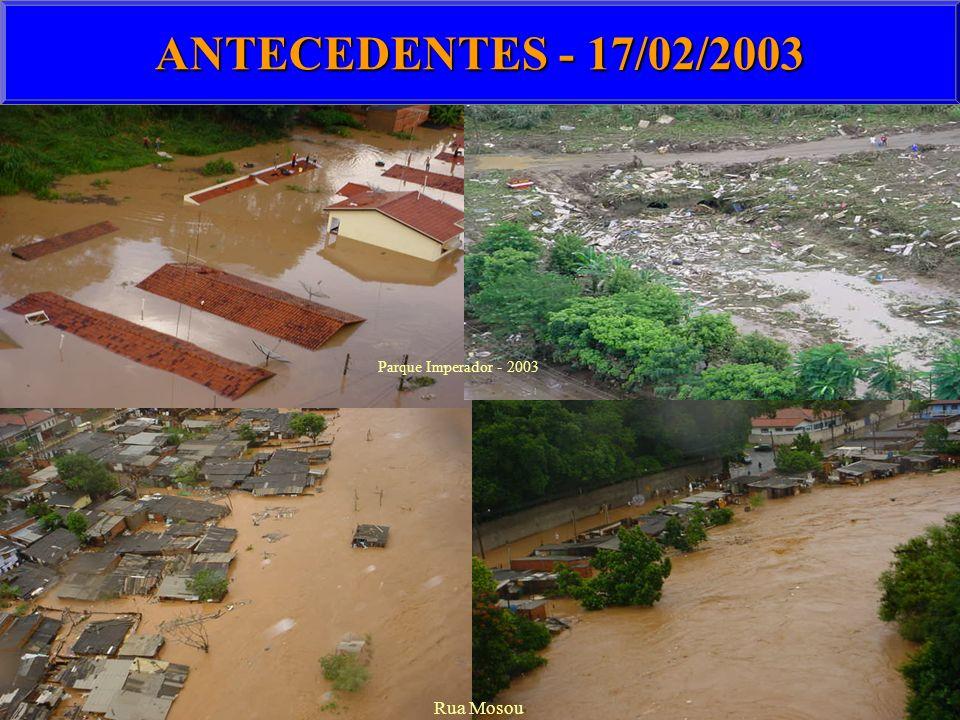 ANTECEDENTES - 17/02/2003 Parque Imperador - 2003 Rua Mosou