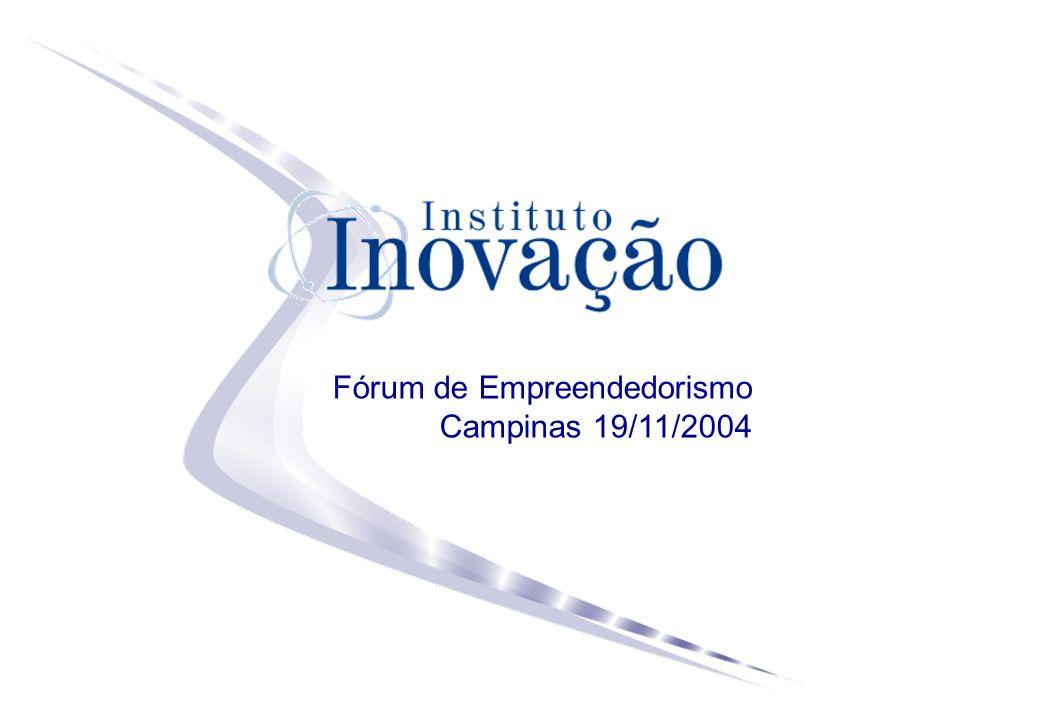 Fórum de Empreendedorismo Campinas 19/11/2004