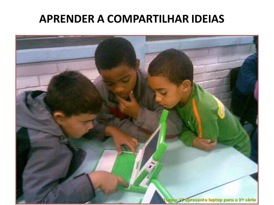 APRENDER A COMPARTILHAR IDEIAS
