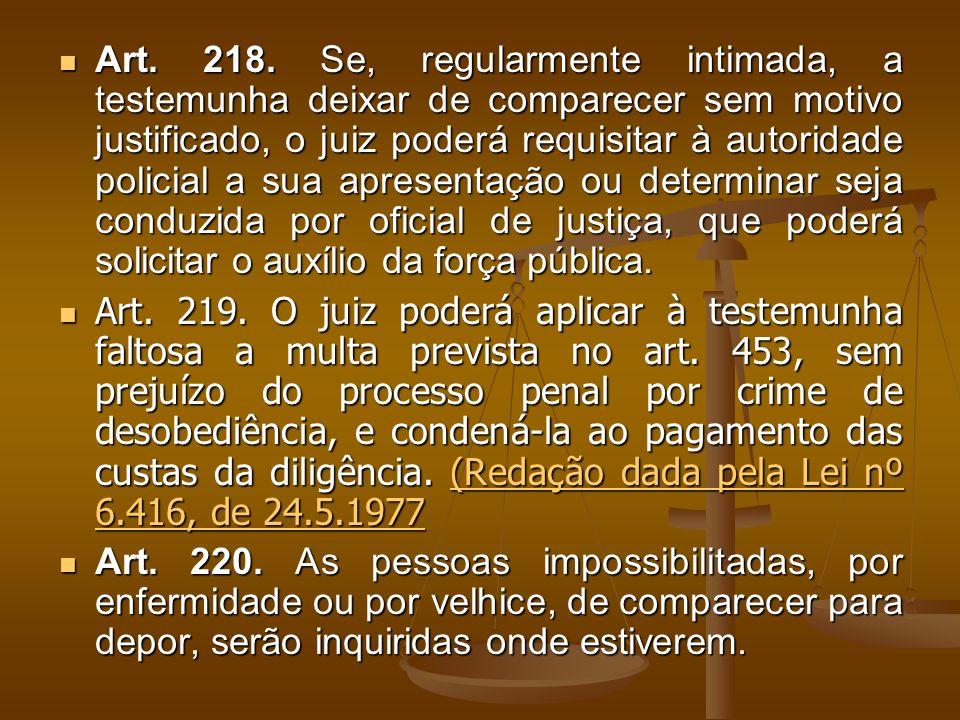 Art. 218.