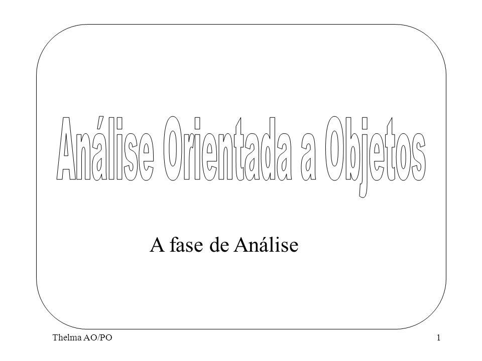 Thelma AO/PO1 A fase de Análise