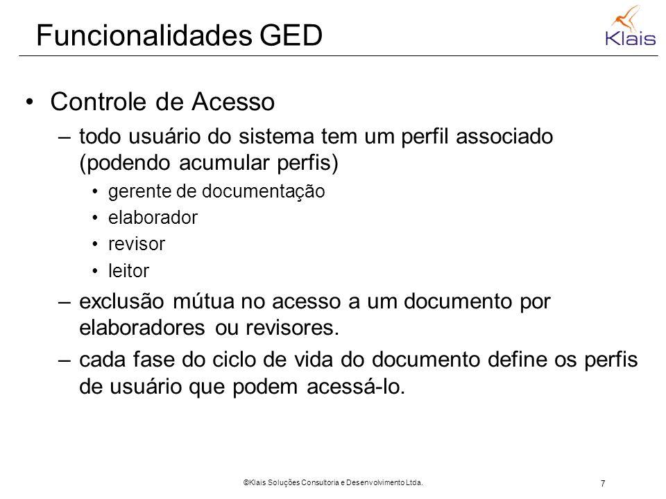 8 ©Klais Soluções Consultoria e Desenvolvimento Ltda.