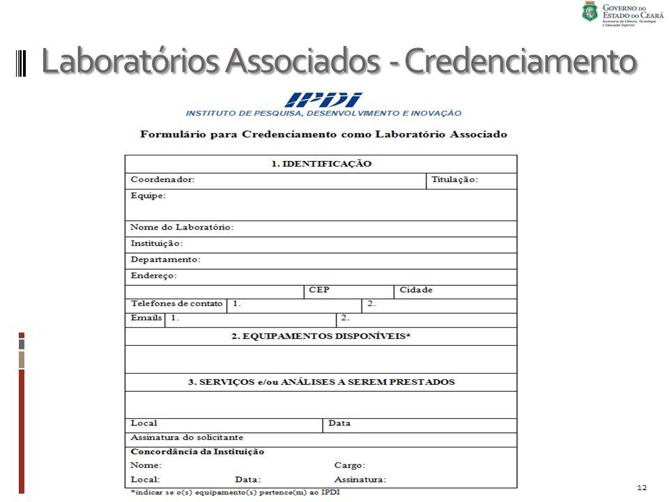Laboratórios Associados - Credenciamento 12