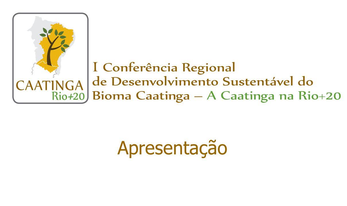 Atribuições (cont.) Selecionar e viabilizar a participação de representantes do estado na Mostra de Produtos e Práticas Sustentáveis da Caatinga Comitês estaduais