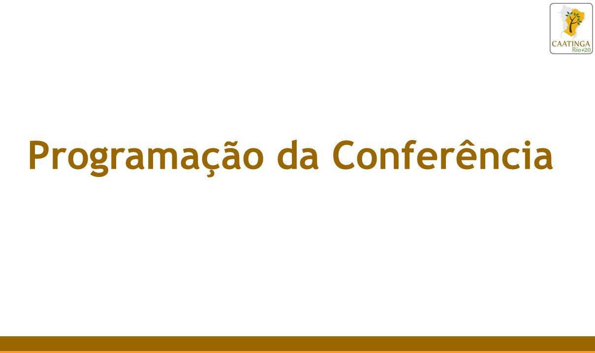 Programação da Conferência
