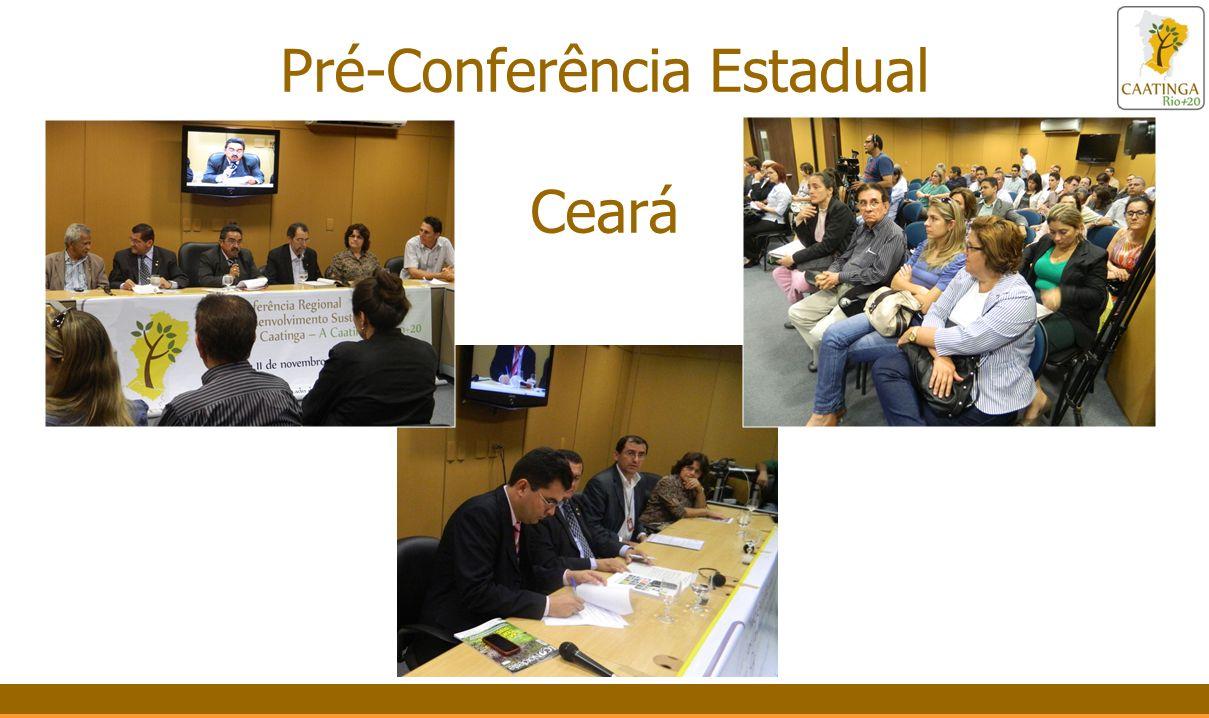 Programação da Conferência – 11/11/2011 Dia 11 Tarde Eixo 3: O papel dos diversos atores na promo ç ão do desenvolvimento sustent á vel do Bioma Caatinga.