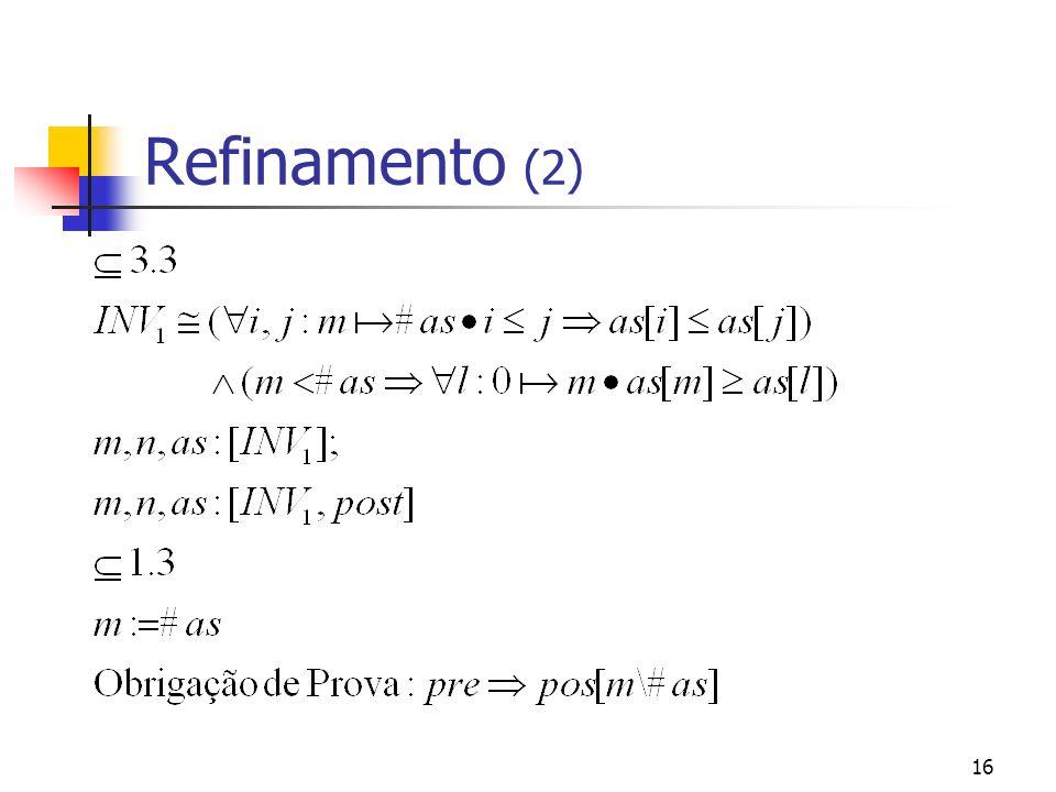 16 Refinamento (2)