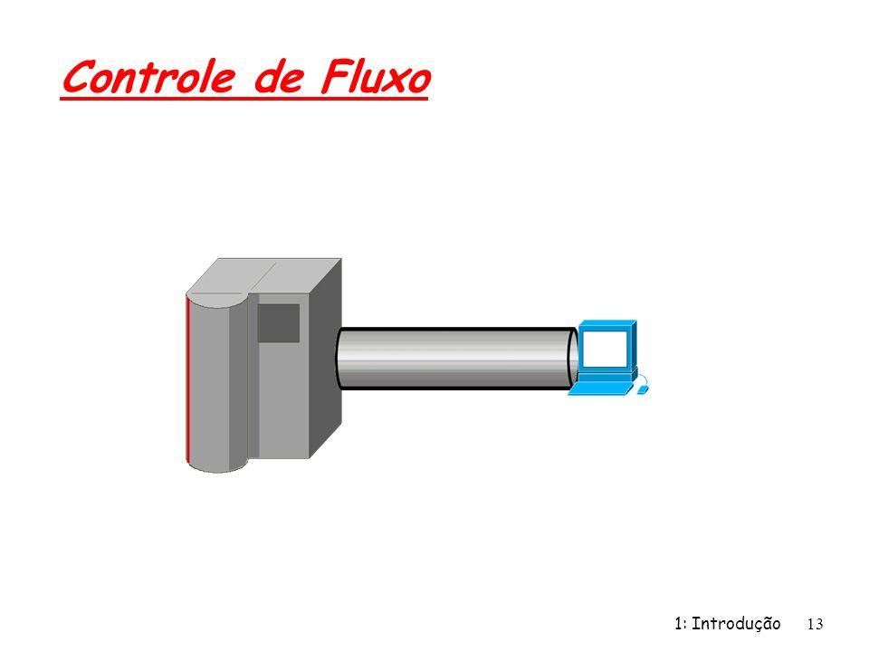1: Introdução 13 Controle de Fluxo