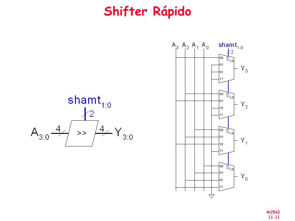 MC542 11.11 Shifter Rápido