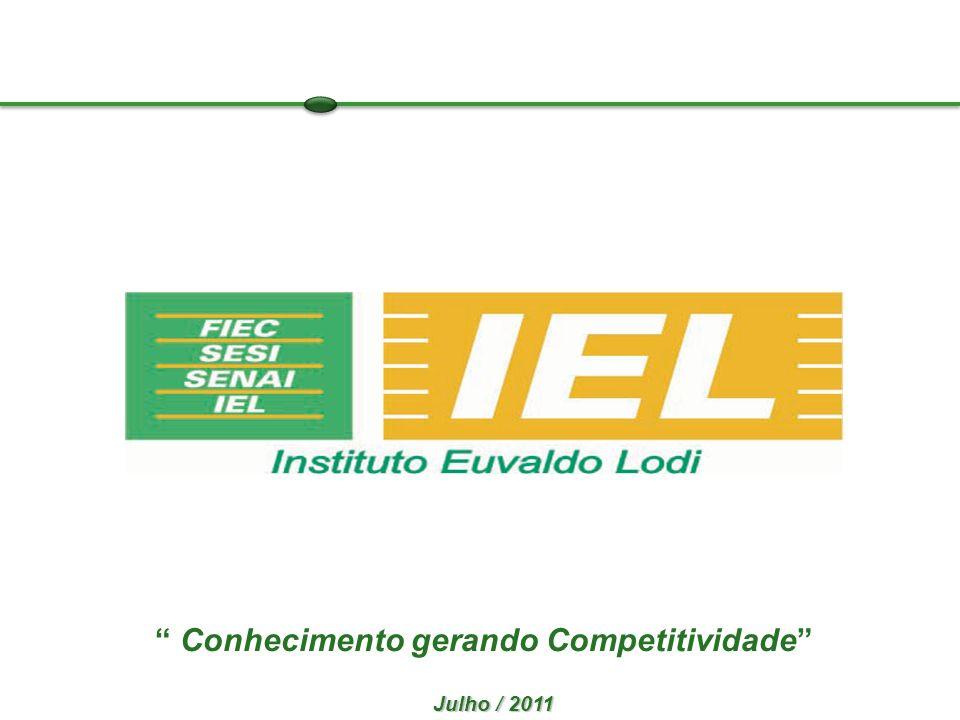 Julho / 2011 Conhecimento gerando Competitividade