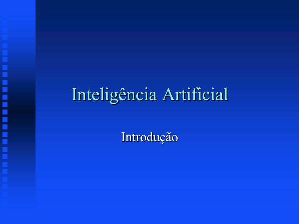 Inteligência Artificial Introdução