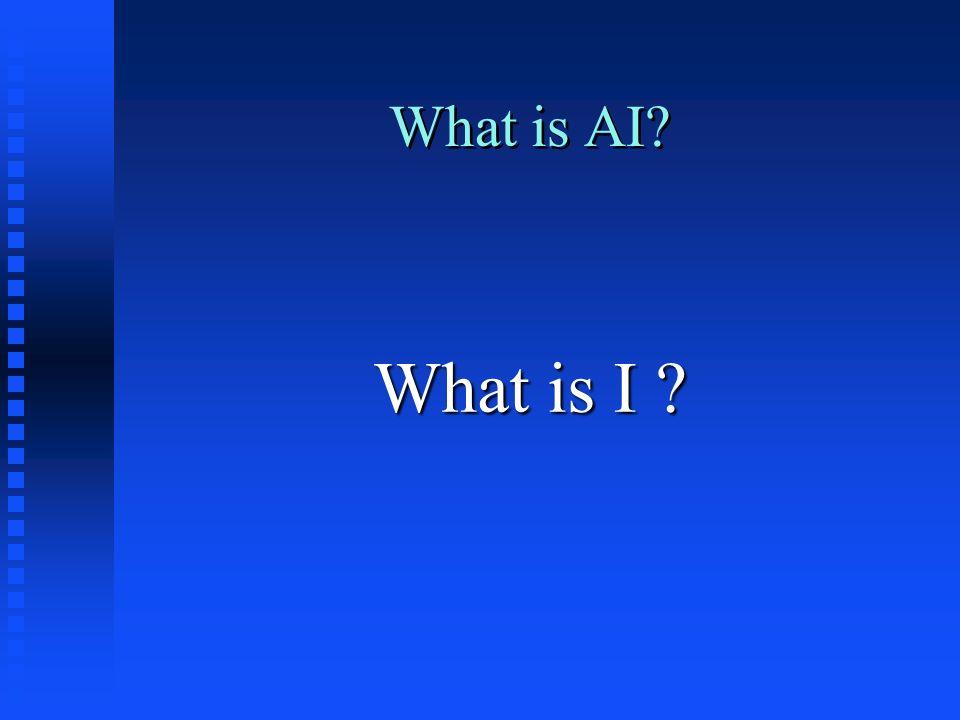 Definições n IA é um ramo da Ciência da computação cujo objetivo é desenvolver sistemas computacionais que exibam características que nós associamos com inteligência no comportamento humano n IA é o estudo de idéias as quais permitem o computador fazer coisas que façam as pessoas parecerem inteligentes