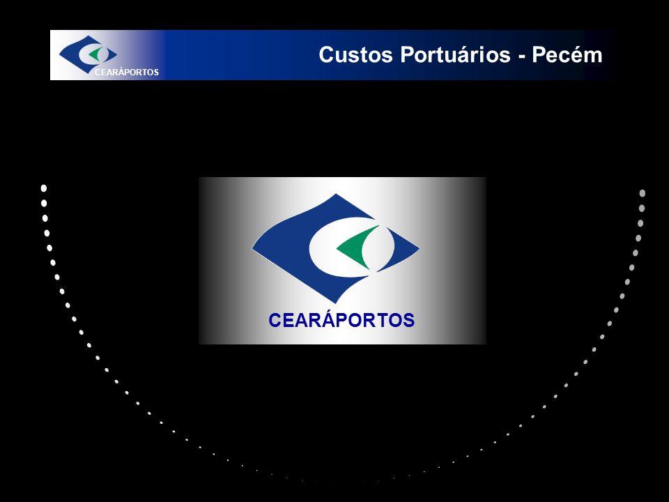 Custos Portuários - Pecém CEARÁPORTOS